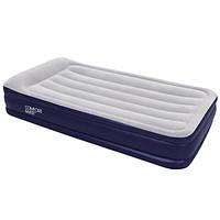 Односпальная надувная кровать Bestway 67442 (203x102x38 см.) со встроенным электрическим насосом