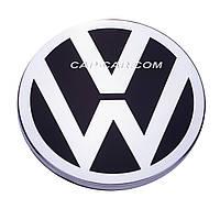Колпачки заглушки для литых дисков Mercedes с эмблемой  Volkswagen 75мм