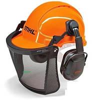 Шлем защитный STIHL с сеткой и наушниками Aero light