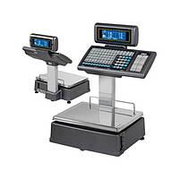 Весы с печатью чека DIBAL M-525 с клавиатурой на стойке