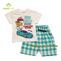 Детский костюм New Jersey на мальчика (футболка, шорты)