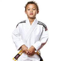 Кимоно детское для Бразильского джиу-джитсу TATAMI Kids Nova 2015 Белое + Белый пояс в комплекте
