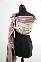 Ringsling, Broken Twill Weave (bamboo + cotton) - Desert Rose