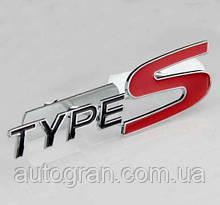Емблема решітки радіатора Honda TypeS