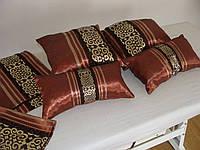 Комплект подушек коричневые   4шт, фото 1