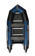 Надувная лодка АкваСтар К-430 - синяя, фото 1