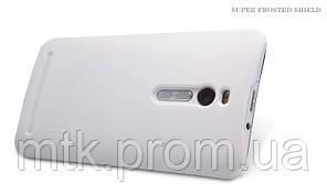 Чехол-бампер и плёнка NILLKIN для телефона Asus Zenfone 2 белый