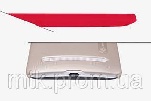 Чехол-бампер и плёнка NILLKIN для телефона Asus Zenfone 2 золотистый