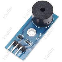 Модуль источника звука зуммер YL-44 3 контакта, фото 1