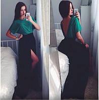 Платье длинное - ткань масло ( так же пошив на заказ по параметрам)