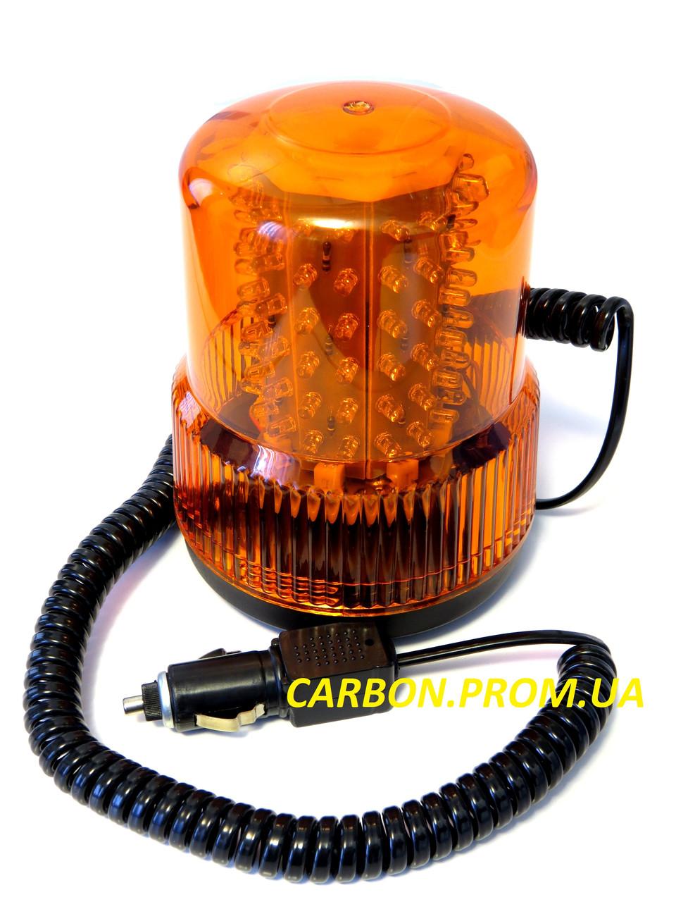 Мигалка жовта світлодіодна TR 502-19 AYFAR 12V 24V v2