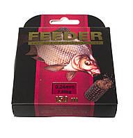Леска Mikado Feeder (Черная) 0,24мм (150м) 7,6кг