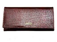 Женский кошелек Canevo TY-5242 коричневый из натуральной кожи с монетницей внутри, фото 1