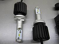 Светодиодные авто лампы  H27(880) G7  ZES - комплект 2 шт. https://gv-auto.com.ua, фото 1