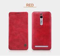 Чехол-книжка NILLKIN для телефона Asus Zenfone 2 красный