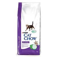 Cat Chow (Кэт Чау) Hairball Control Корм для кошек (против образования волосяных комочков) 15 кг