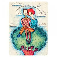 Деревянная открытка Одна высота,магазин открыток