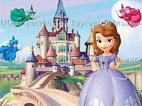 Печать съедобного фото - Формат А4 - Принцесса София №2 - Вафельная бумага