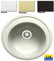 Кухонная гранитная мойка Asil-UA D*510