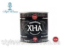 Хна Viva henna для биотату и бровей, черная 15гр