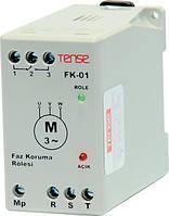 Реле контроля фаз устройство защиты 3-х фазного электродвигателя DIN+ винты цена купить