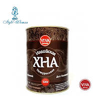 Хна Viva henna для биотату и бровей, коричневая 120гр, фото 1