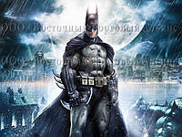 Друк їстівного фото - Формат А4 - Вафельна папір - Бетмен №2