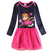 Детское платье с Анной из Холодного Сердца
