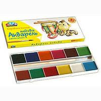 Краски акварельные Гамма медовые Любимые игрушки 12 цветов (311036)