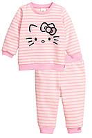 "Детский комплект для девочки ""Hello Kitty""  12-18 месяцев, 1,5-2 года"