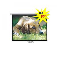 """Экран для проектора 90""""(200х112см) LOGAN PRMC3"""