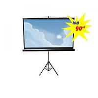 """Экран для проектора 90""""(200х112см) LOGAN PRTC3"""