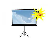 """Экран для проектора 108""""(240х135см) LOGAN PRTC4"""
