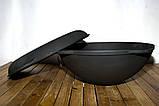 Казан чавунний з кришкою сковорідкою 12л, фото 4