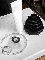 Оригинальный ремкомплект пыльника с хомутами + смазкой наружной гранаты Чери A11. Чехол ШРУСа Chery A15/18