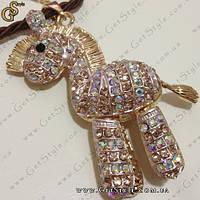 """Украшение на цепочке """"Golden Horse"""", фото 1"""