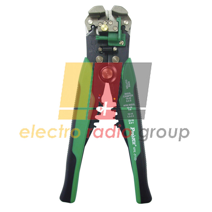 Стрипер-кримпер Pro'sKit 8PK-371D