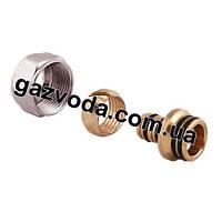 Фитинг для пластиковой и металлоаластиковой трубы 24х1,5-16х2 ICMA Арт. 100