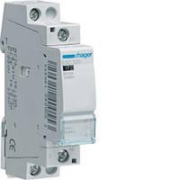 Контактор стандарт Hager ESC225-25A, 2НВ, 230В, 1м