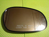 Зеркальный элемент DAEWOO Lanos  (вкладыш c обогревом )