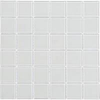 Мозаика прозрачное стекло Vivacer одноцвет 4,8*4,8 PM-01