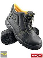 Рабочие ботинки без метноска REIS (RAWPOL) Польша (спецобувь) BRYES-T-OB