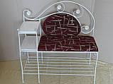 Кованый набор мебели в прихожую  -  07Э, фото 6