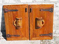 Словянский стиль дверки для бара.Изготовить по индивидуальным проектам.