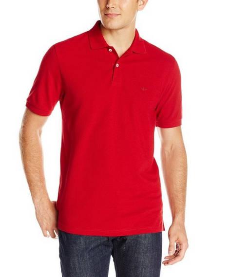 Тенниска поло Dockers - Red (XL)