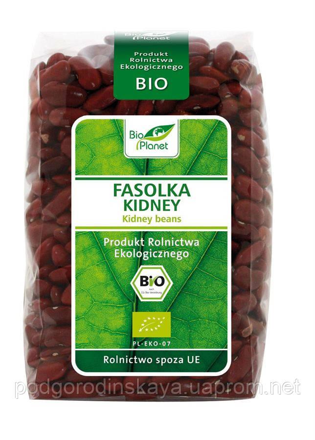 Фасоль Кидней Органическая (красная), Bio Planet, 400 гр