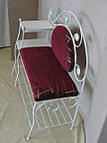 Кованый набор мебели в прихожую  -  07Э, фото 8