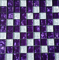Мозаика декор Vivacer MIX VIOLET