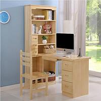 Письменный компьютерный стол и шкаф 043