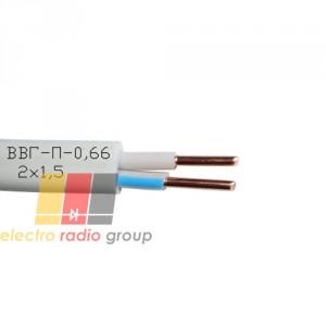 Кабель ВВГ-П нгд -0,66 2х2,5